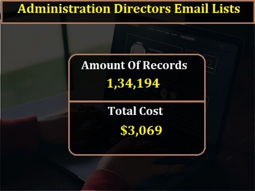 Administration Directors Email Lists-min