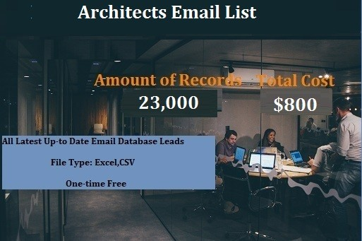 Architects Email List