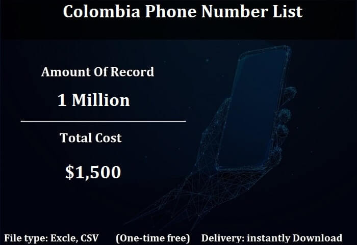 Colombia Phone Number List-min