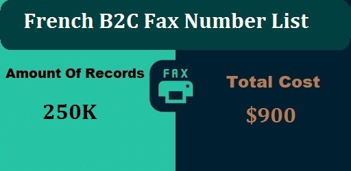 French B2C Fax Number