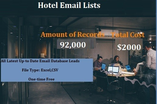 Hotel Email Lists