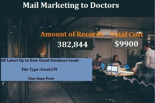 Mail Marketing to Doctors