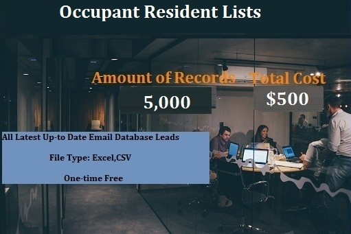 Occupant Resident Lists