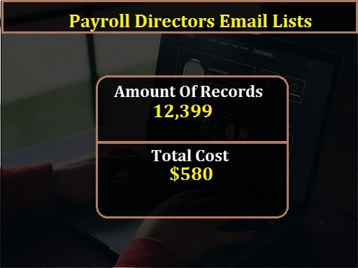 Payroll Directors Email Lists-min