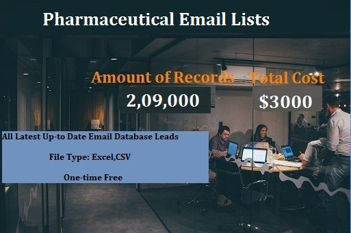 Pharmaceutical Email Lists