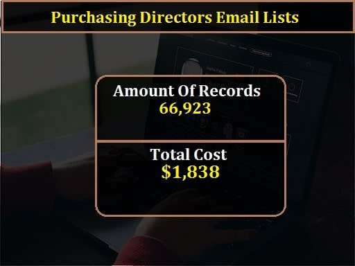 Purchasing Directors Email Lists-min