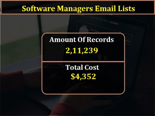 Software Managers Email Lists-min