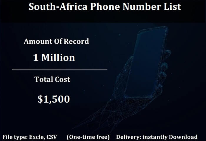 South-Africa Phone Number List-min