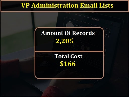 VP Administration Email Lists-min