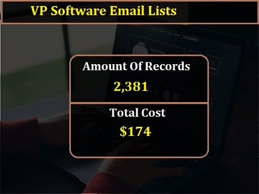VP Software Email Lists-min