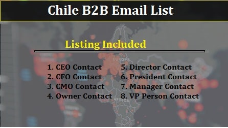 Chile B2B Email-min