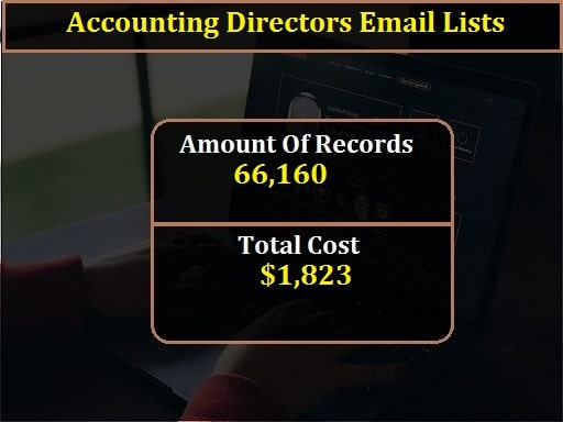 Accounting Directors Email Lists-min