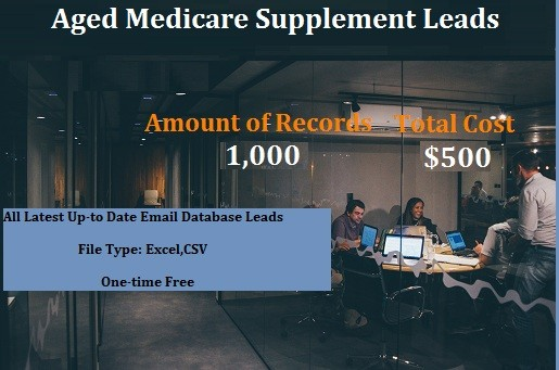 Aged Medicare Supplement Leads
