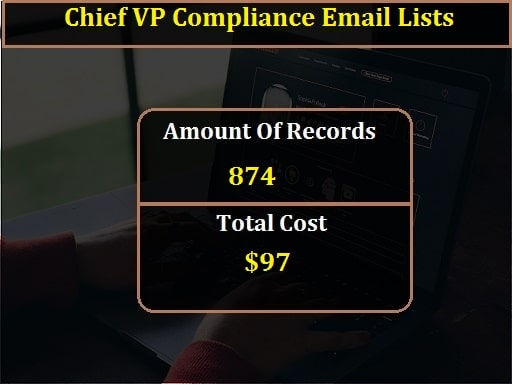 Chief VP Compliance Email Lists-min