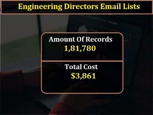 Engineering Directors Email Lists-min