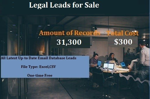 Legal Leads for Sale