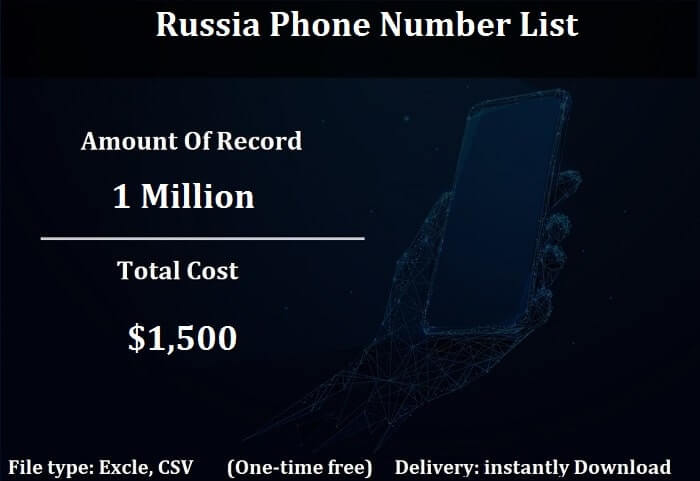 Russia Phone Number List-min