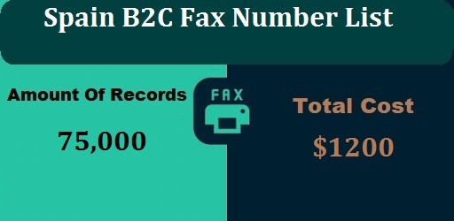 Spain B2C Fax Number