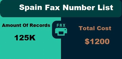 Spain Fax Number List