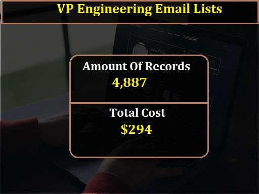 VP Engineering Email Lists-min