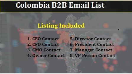 Colombia B2B Email-min